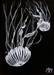 Art: Jellies  (SOLD) by Artist Monique Morin Matson
