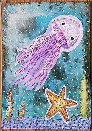 Art: Under The Sea by Artist Sherry Key
