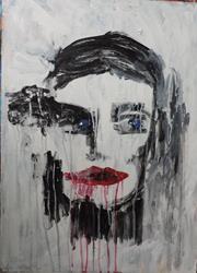 Art: grief by Artist Nancy Denommee