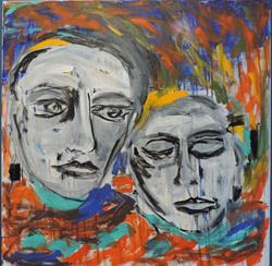 Art: inconsolable by Artist Nancy Denommee