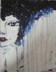 Art: traces of tears by Artist Nancy Denommee