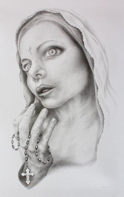 Art: Mercy by Artist Elisa Hirt