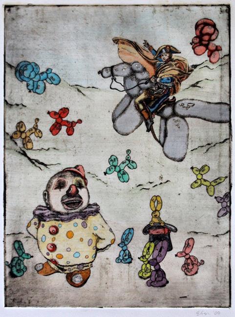 Art: The Tiny General by Artist Elisa Hirt