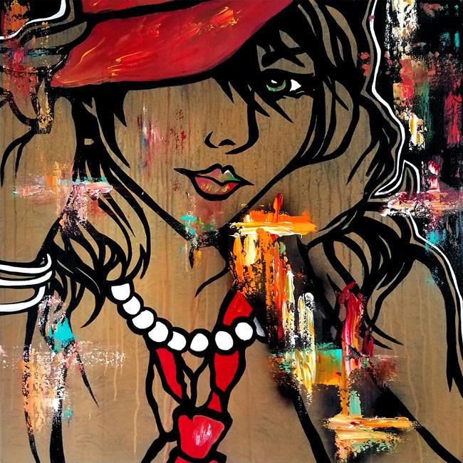 Art: abstract 470 3030  Original Abstract Art EDM 1 by Artist Thomas C. Fedro