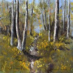 Art: Autumn Days 2 by Artist Janet M Graham
