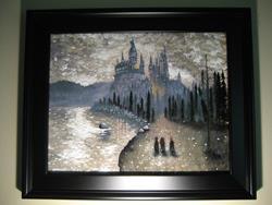 Art: Hogwarts First Year by Artist J A Blackwell