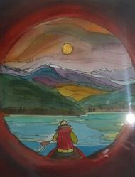 Art: The Canada I Love (sold) by Artist Kathy Crawshay