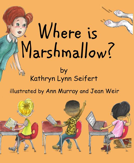 Art: Where is Marshmallow? Childrens book special needs kids by Artist Ann Murray
