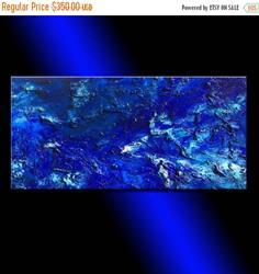 Art: Blue Lagoon 38 by Artist HENRY PARSINIA