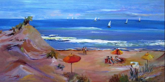 Art: On the Sands of the Dune by Artist Delilah Smith