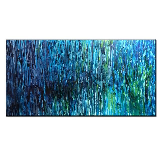 Art: RAIN STORY 18 by Artist HENRY PARSINIA