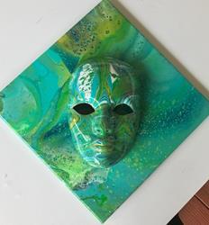 Art: Masquerade 2 by Artist Ulrike 'Ricky' Martin