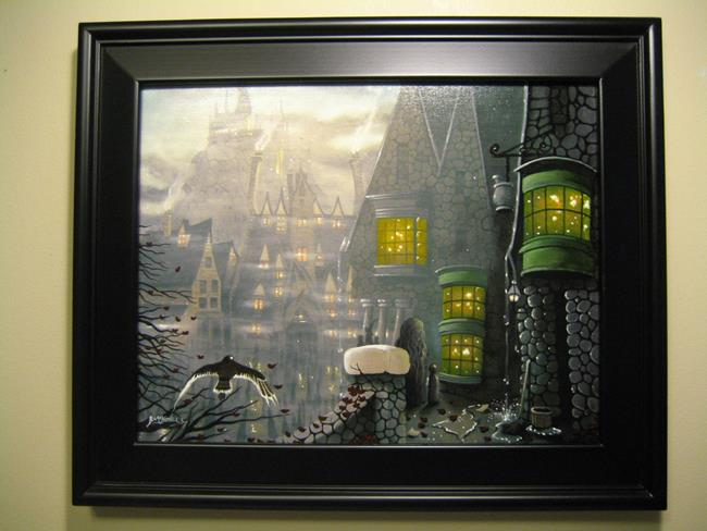 Art: Off To Ollivanders by Artist J A Blackwell