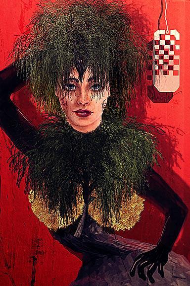 Art: Verdure Couture by Artist Alma Lee
