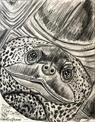 Art: DINO The-Turlte. by Artist William Powell Brukner