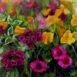 Art: Midsummer Blooms by Artist Christine E. S. Code ~CES~