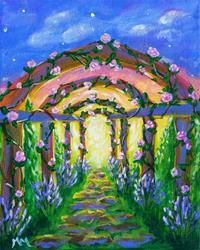 Art: Your Secret Garden by Artist Monique Morin Matson