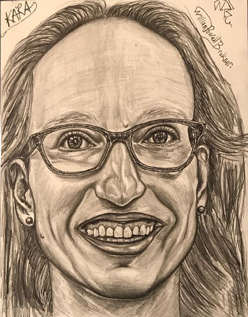 Art: KARA. by Artist William Powell Brukner