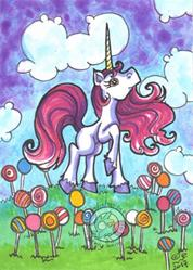 Art: Lollipop Land by Artist Emily J White