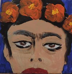 Art: frida kahlo redux 2 by Artist Nancy Denommee