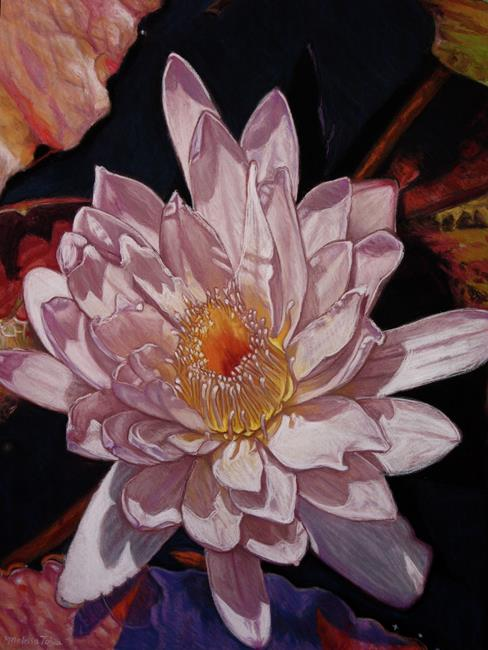 Art: The Perfect Lily by Artist Melissa Tobia