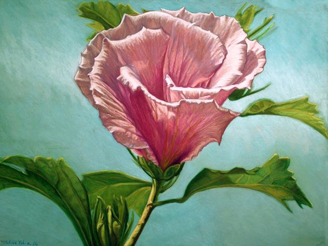 Art: Flower In The Sky by Artist Melissa Tobia