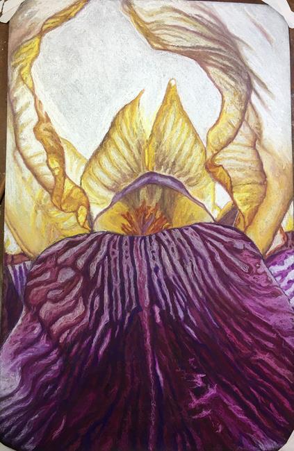 Art: Iris Dancer by Artist Melissa Tobia