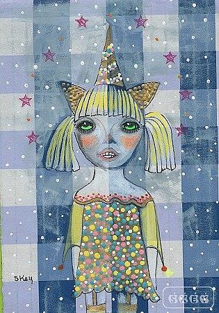 Art: Confetti Candy Dreams by Artist Sherry Key