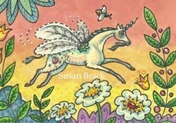 Art: FASTER THAN A BUMBLEBEE by Artist Susan Brack