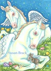 Art: ANGELS OF EASTER by Artist Susan Brack
