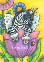 Art: LITTLE ZEBO by Artist Susan Brack