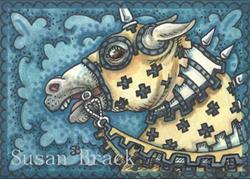 Art: MY KINGDOM FOR A HORSE by Artist Susan Brack