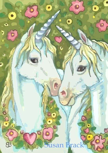 Art: NOBLE AND PURE by Artist Susan Brack