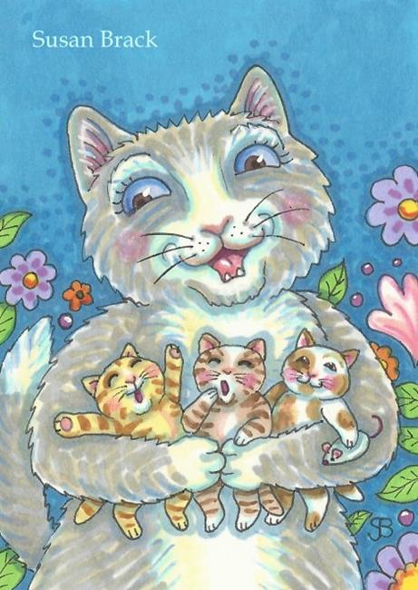 Art: SPRING LITTER by Artist Susan Brack