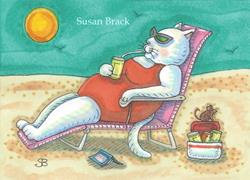 Art: FUN IN THE SUN by Artist Susan Brack