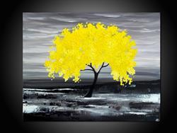 Art: MY YELLOW TREE by Artist Kate Challinor