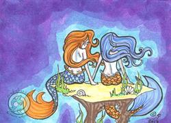 Art: Chat by Artist Emily J White