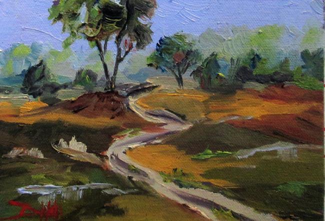 Art: Landscape No. 7 by Artist Delilah Smith