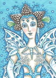 Art: SNOW FAIRY by Artist Susan Brack