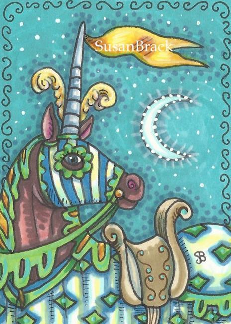 Art: BRAVE KNIGHT WANTED by Artist Susan Brack