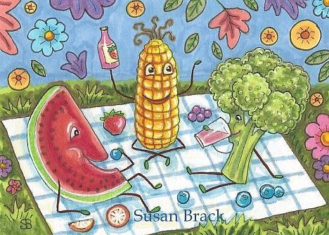 Art: SUMMER TIME by Artist Susan Brack