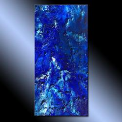 Art: Blue Lagoon 40 by Artist HENRY PARSINIA