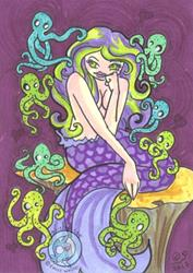 Art: Cuttlefish Cuddles by Artist Emily J White