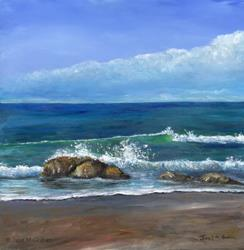 Art: Kirra Beach 3 by Artist Janet M Graham