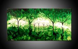 Art: FOREST GREEN by Artist Kate Challinor
