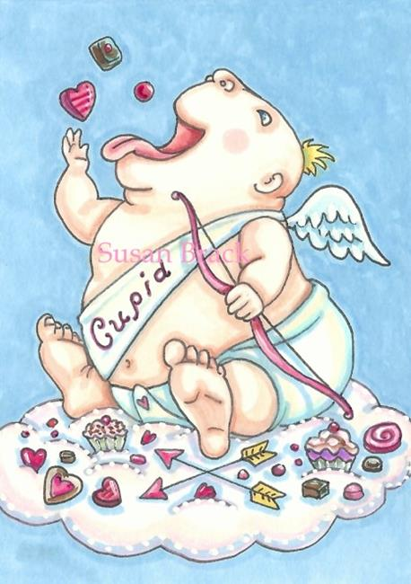 Art: ADDICTED TO LOVE by Artist Susan Brack