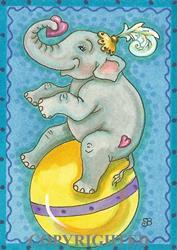 Art: ELLA'S BIG DEBUT by Artist Susan Brack