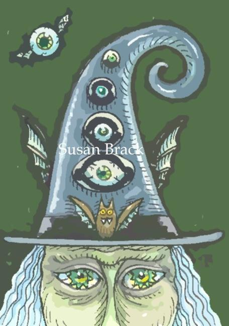 Art: EYES OF MAGIC AND MAYHEM by Artist Susan Brack