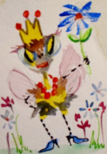 Art: Queen Bee by Artist Delilah Smith