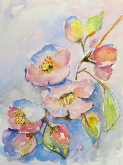 Art: Blossoms by Artist Delilah Smith